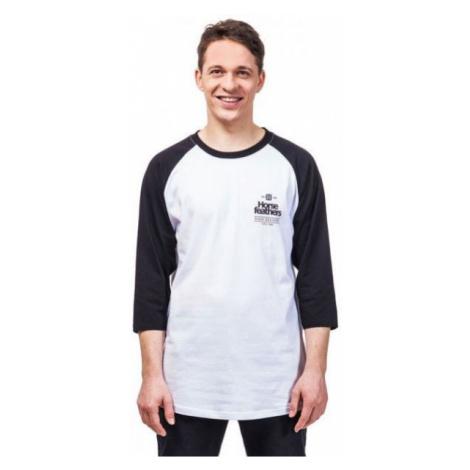 Horsefeathers CLAN LS T-SHIRT bílá - Pánské tričko