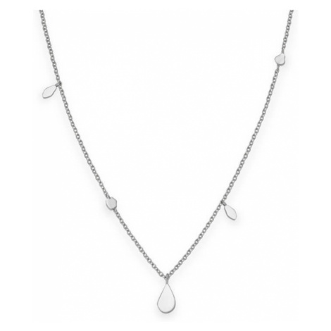 Rosefield náhrdelník Iggy Shaped Drop Necklace Silver