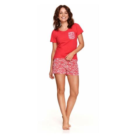 Dámské pyžamo Taro Agnes 2499 kr/rL'21 červená