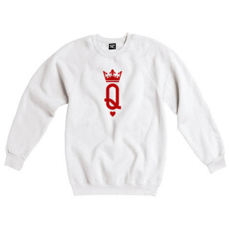 Dámská mikina bez kapuce Q as queen