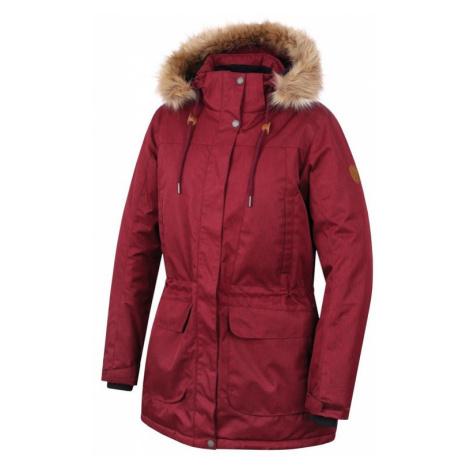 Dámský kabát Hannah Galiano II garnet mel