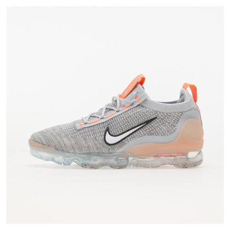 Nike Air VaporMax 2021 Flyknit Grey Fog/ White-Bright Mango-Anthracite