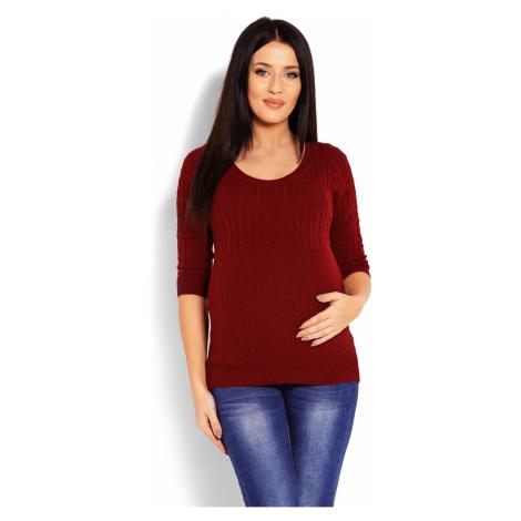 Těhotenský svetr model 123424 PeeKaBoo universal Pee Ka Boo