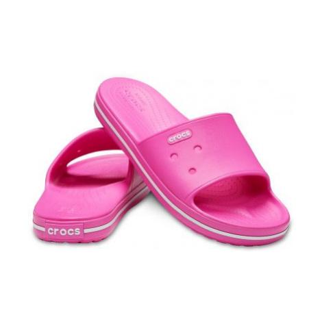 Pantofle Crocs Crocband III Slide Electric Pink/White