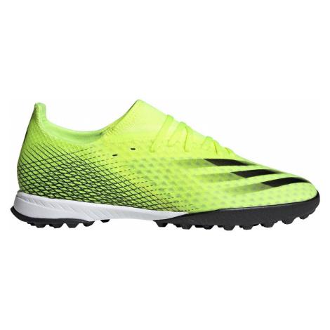 Kopačky adidas X GHOSTED.3 TF Žlutá / Černá