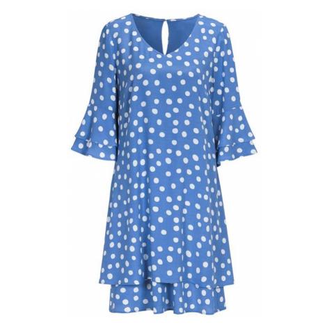 Vrstvené šaty s volánovými rukávy Cellbes
