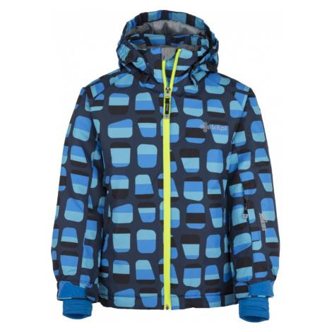 KILPI Chlapecká lyžařská bunda BENNY-JB JJ0017KIDBL Tmavě modrá