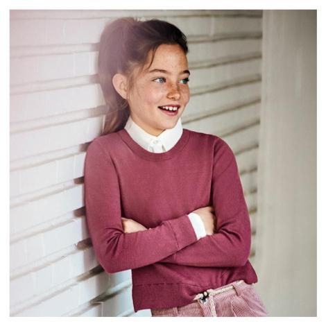 Dívčí svetr Mayoral 7329 | růžová
