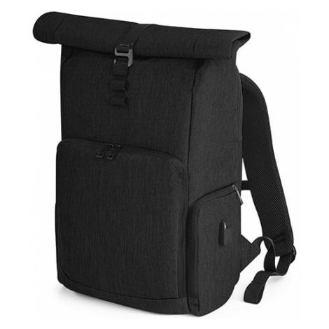 Chytrý batoh RollUP - černý Quadra