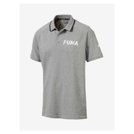 Tričko Puma Modern Sports Polo Šedá