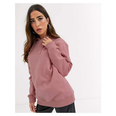 Missguided basic hoody in pink-Green