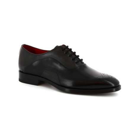 Leonardo Shoes 8230I18 TOM VITELLO NERO Černá