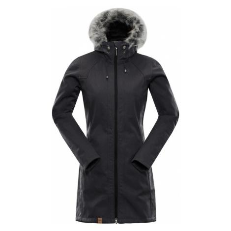 ALPINE PRO PRISCILLA 3 INS. Dámský softshellový kabát LCTM062990 černá