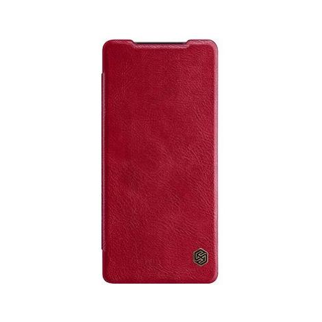 Nillkin Qin kožené pouzdro pro Samsung Galaxy Note 20 Red
