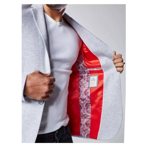 Gray men's jacket MX0539 DStreet