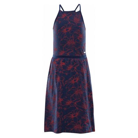ALPINE PRO ZELDO Dětské šaty KSKR068677PD estate blue