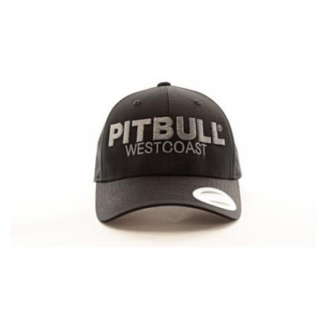 Kšiltovka PitBull West Coast Snapback Classic TNT černá