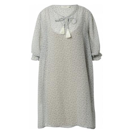 Cream Šaty 'Kinia' modrá / světlemodrá