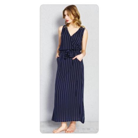 Dámské šaty Alena, XL, tmavě modrá Vienetta Secret