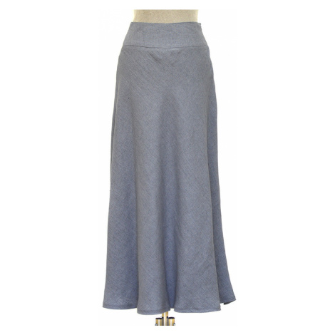 Lněná dámská dlouhá sukně