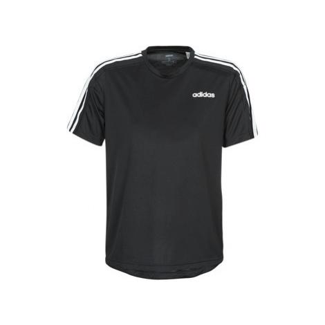 Adidas D2M Tee 3S Černá