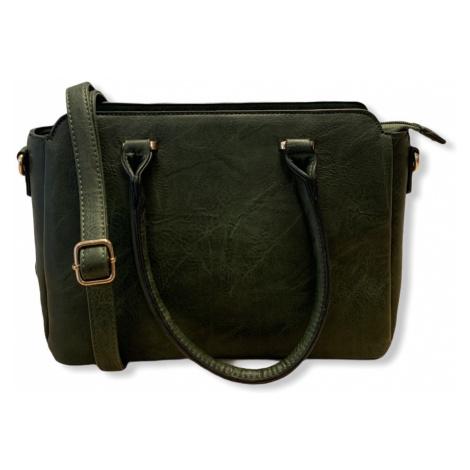 Dámská kabelka Dudlin Yuri, tmavě zelená