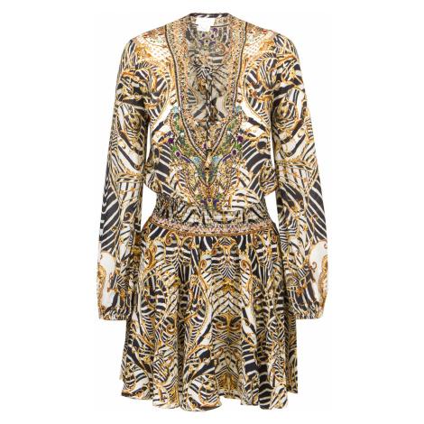 Šaty CAMILLA multicolor vzorkování