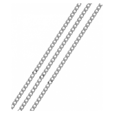 Brilio Silver Stříbrný řetízek Pancer cm 086 04