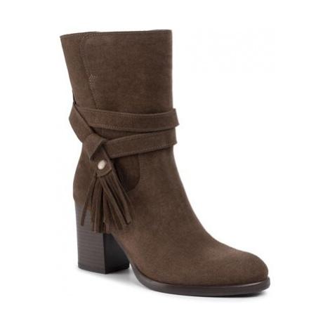 Kotníkové boty Lasocki 71222-05 Přírodní kůže (useň) - Semiš