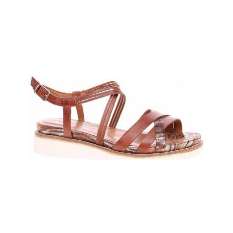 Tamaris Dámské sandály 1-28207-24 nut comb Hnědá