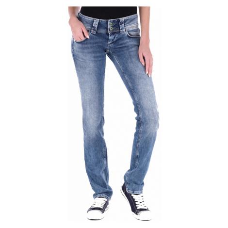Pepe Jeans dámské modré džíny Venus