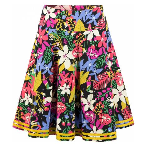 Kolová slavnostní sukně květovaná Blutsgeschwister