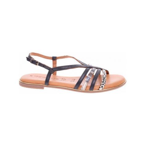 Tamaris Dámské sandály 1-28157-24 navy comb Modrá