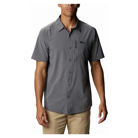 Košile Columbia Triple Canyon™ Solid Short Sleeve II M - šedá