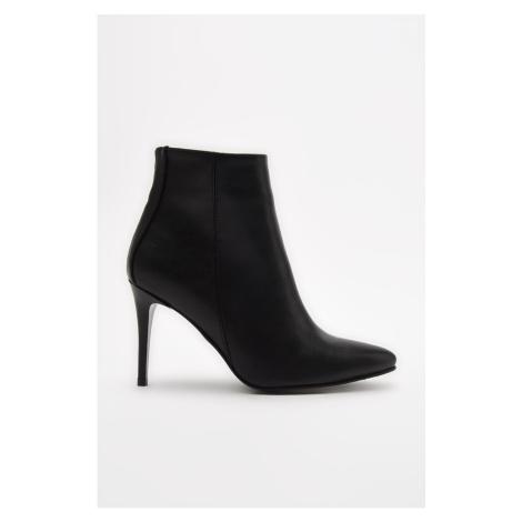 Trendyol Black Women's Pointed Toe Boots & Booties