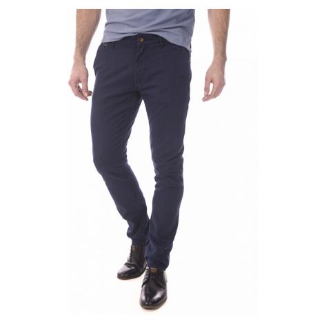 Guess GUESS pánské kalhoty tmavě modré
