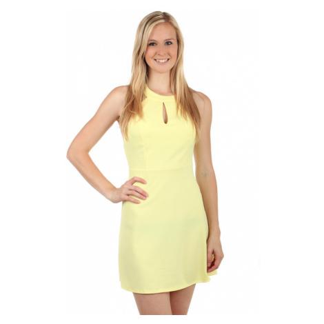 Krátké šaty s odhalenými zády