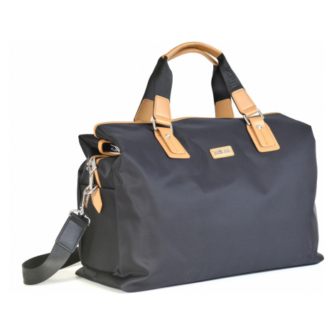 """BRIGHT Cestovní taška na notebook 15,6"""" Cabin Travel Černá/béžová, 46 x 17 x 36 (BR17-T170066-19"""