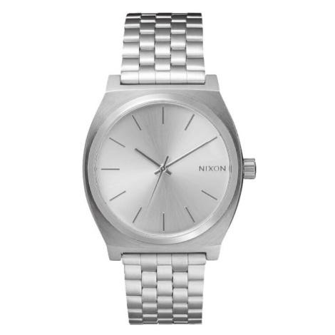 Nixon Time Teller All Silver