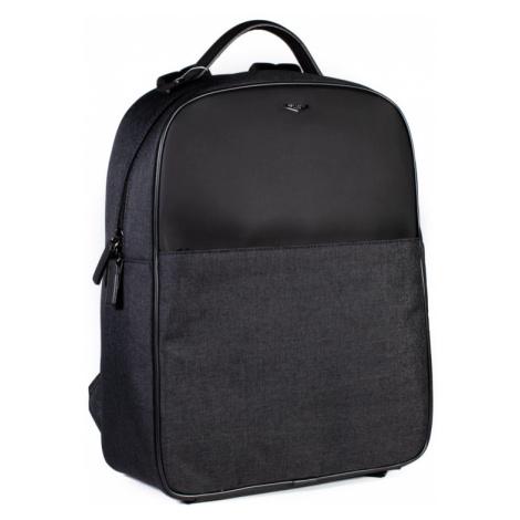 Pánský batoh Hexagona 985748 šedo-černý