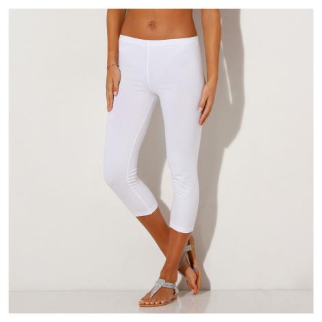 Blancheporte Korzárské kalhoty s pružným pasem bílá