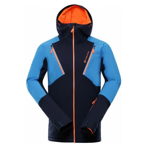 ALPINE PRO MIKAER 3 Pánská lyžařská bunda MJCP368602 mood indigo