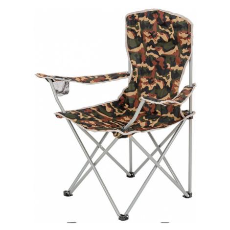 Skládací židle s opěrkami TrekMates Moray maskáč