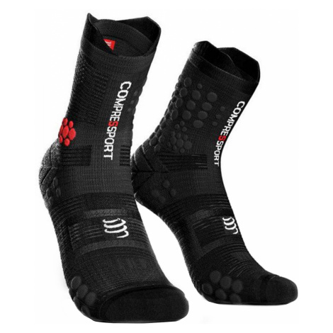 Ponožky Compressport PRORACING SOCKS V3.0 TRAIL černá