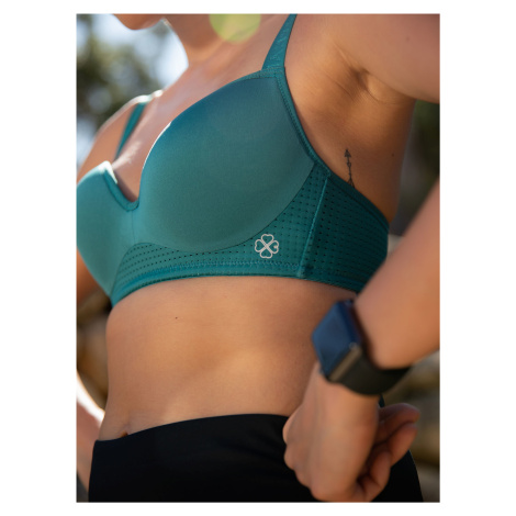 Zelená sportovní podprsenka DORINA