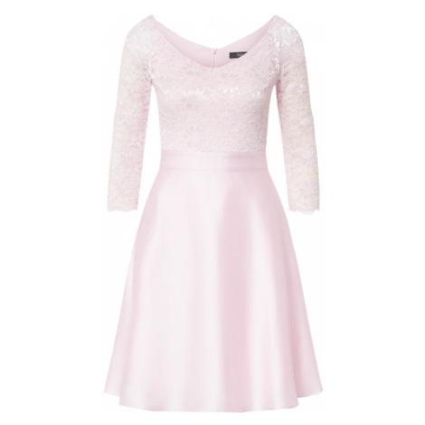 SWING Koktejlové šaty růžová