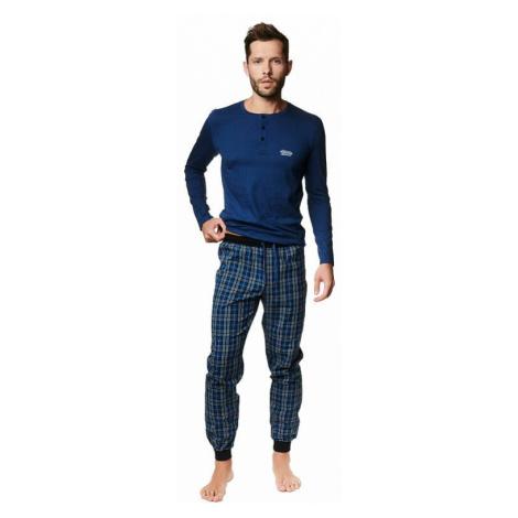 Pánské pyžamo Max tmavě modré Henderson