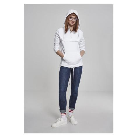 Ladies Sweat Pull Over Hoody - white Urban Classics