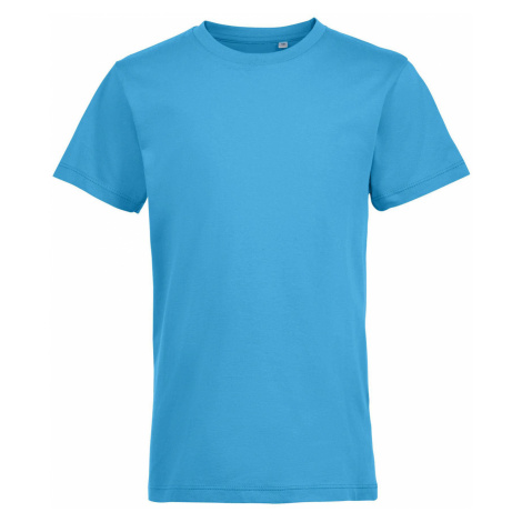 SOLS Dětské triko REGENT FIT KIDS 01183321 Aqua SOL'S