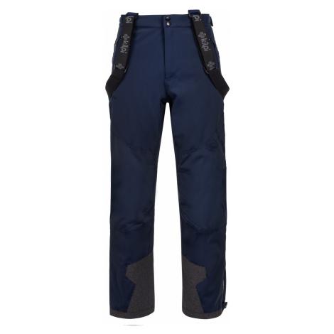 KILPI Pánské lyžařské kalhoty REDDY-M LM0026KIDBL Tmavě modrá